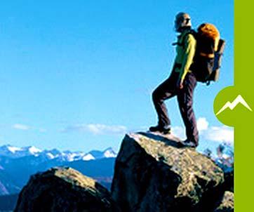 Randonnée en montagne, trek, voyage d'aventure, équipement de sécurité