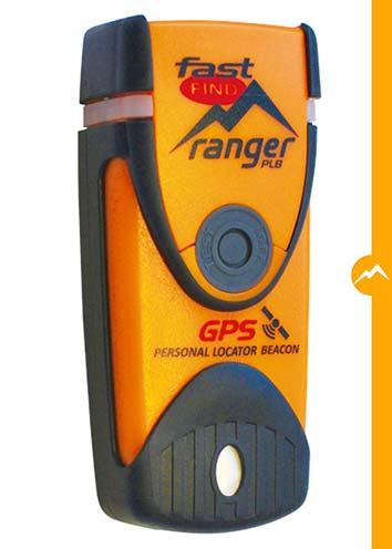 Balise de détresse, PLB 406 Fast Find Ranger avec GPS, équipement de sécurité randonnée, montagne.