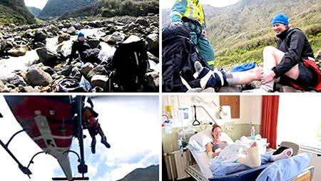 Secours en montagne, Mont Taranaki NZ
